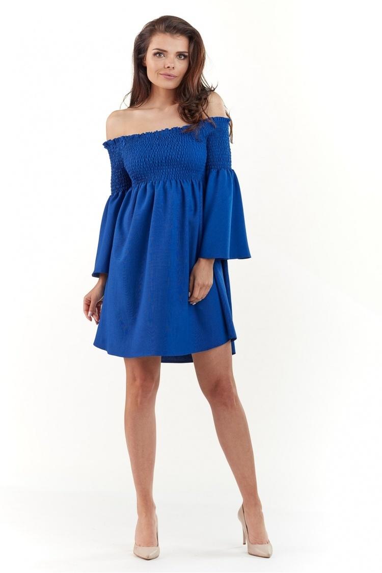 Sukienka Model A228 Blue - awama