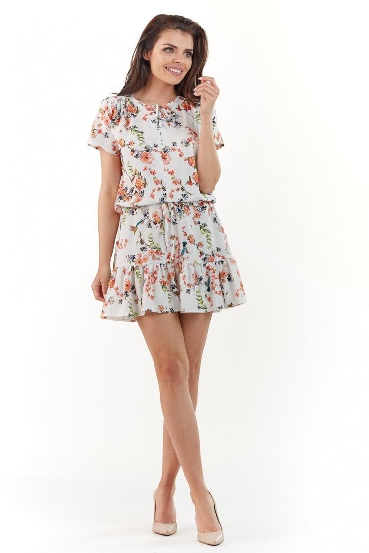 Sukienka Model A230 Ecru - awama