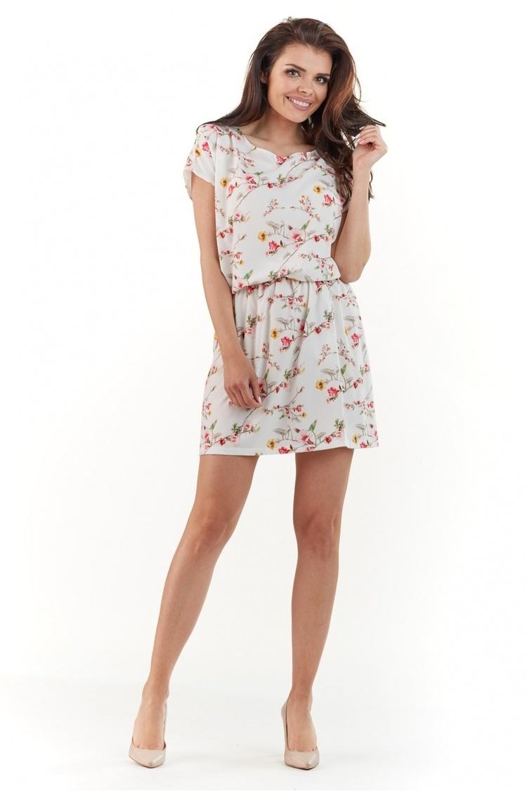 Sukienka Model A231 Ecru - awama