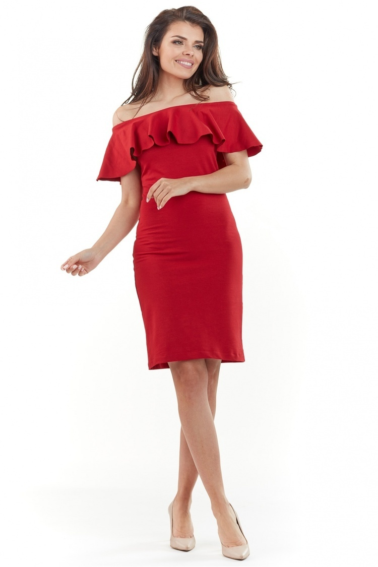 Sukienka Model A221 Red - awama