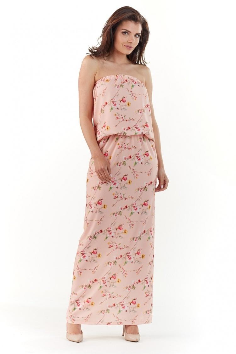 Sukienka Model A219 Light Pink - awama