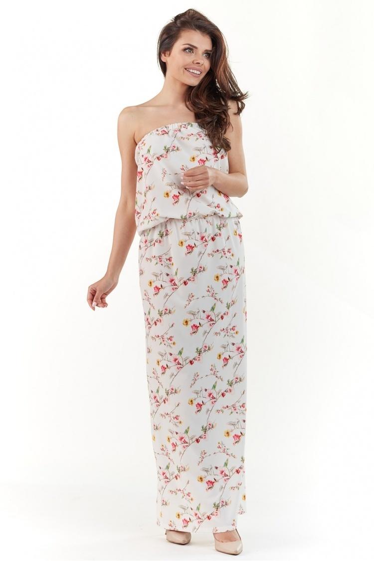 Sukienka Model A219 Ecru - awama