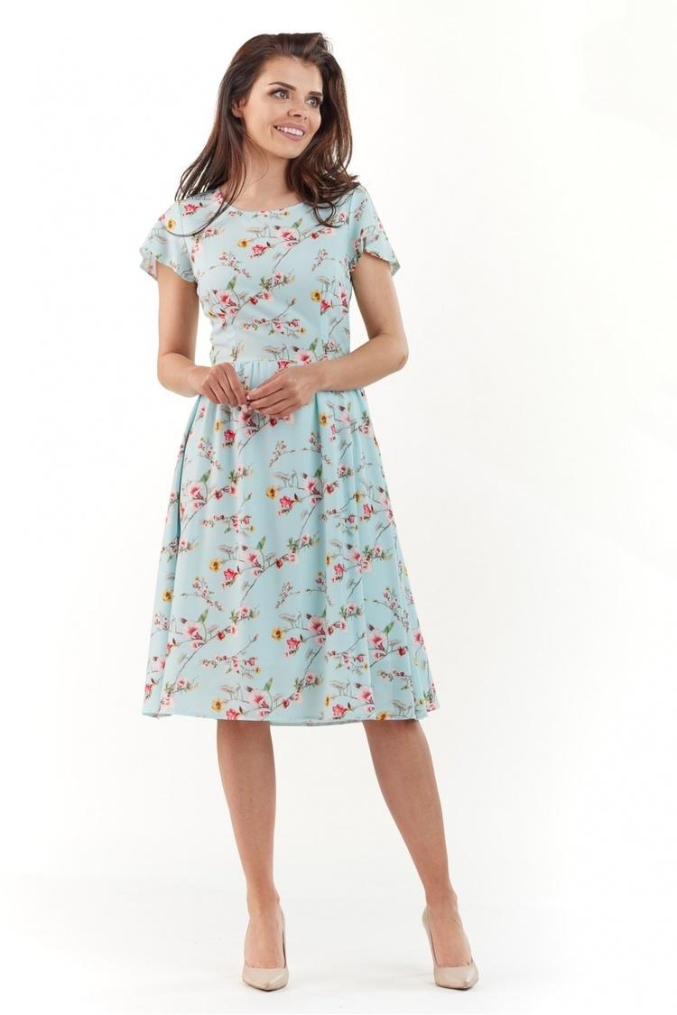 Sukienka Model A218 Blue - awama