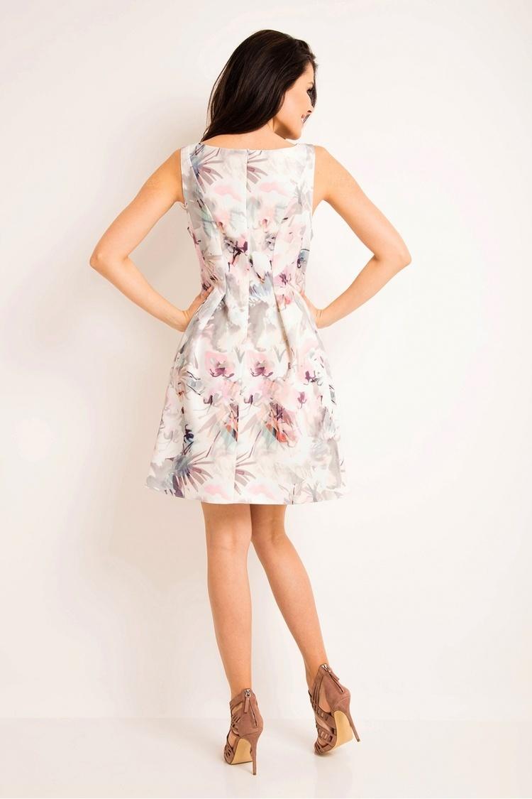 Sukienka Model A165 Light Flowers - awama