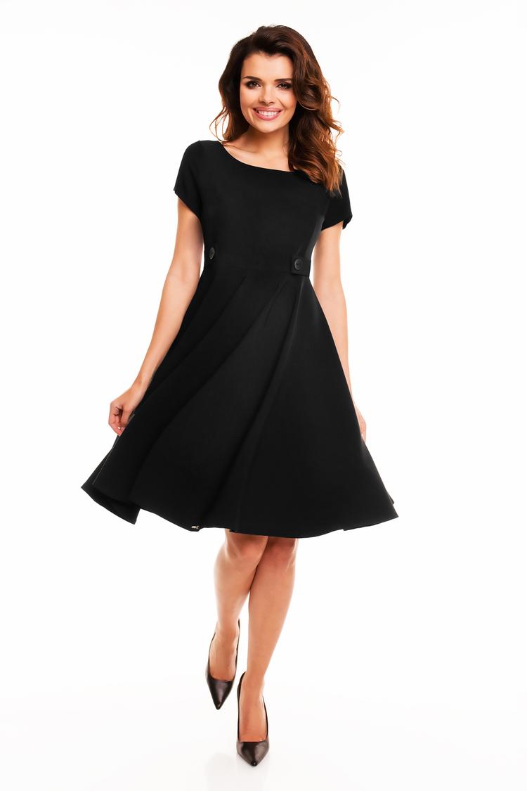 Sukienka Damska A135 Black - awama