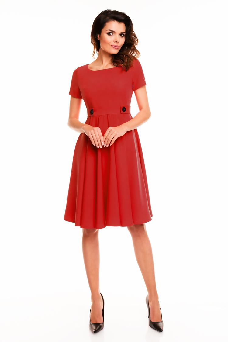 Sukienka Damska A135 Red - awama