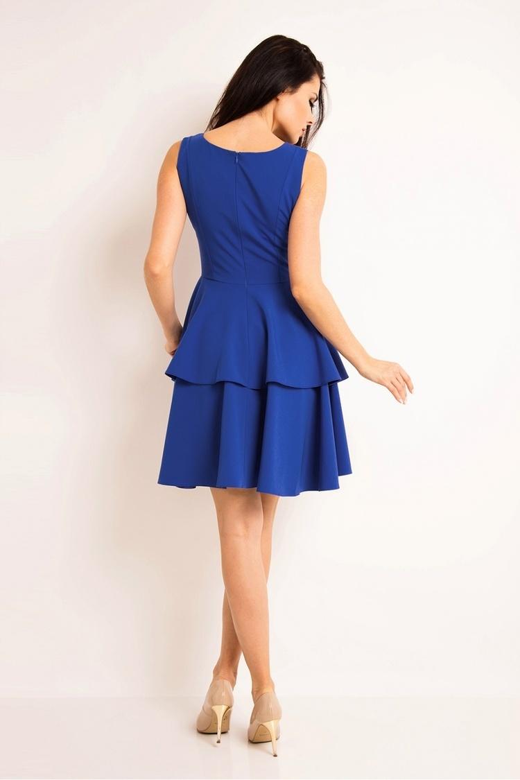 Sukienka Model A163 Blue - awama