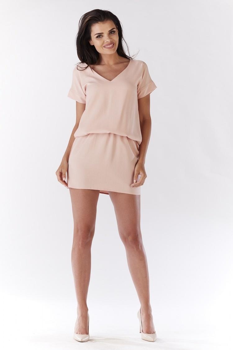 Sukienka Model A178 Light Pink - awama