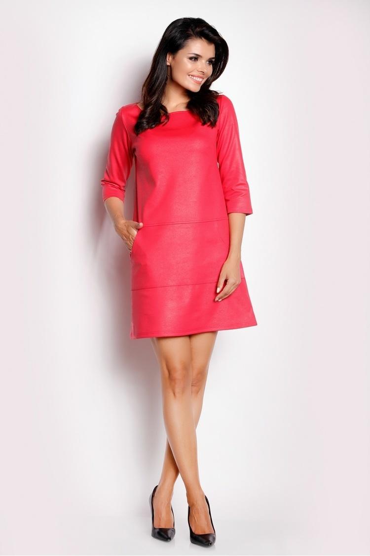 Sukienka Model A153 Pink - awama