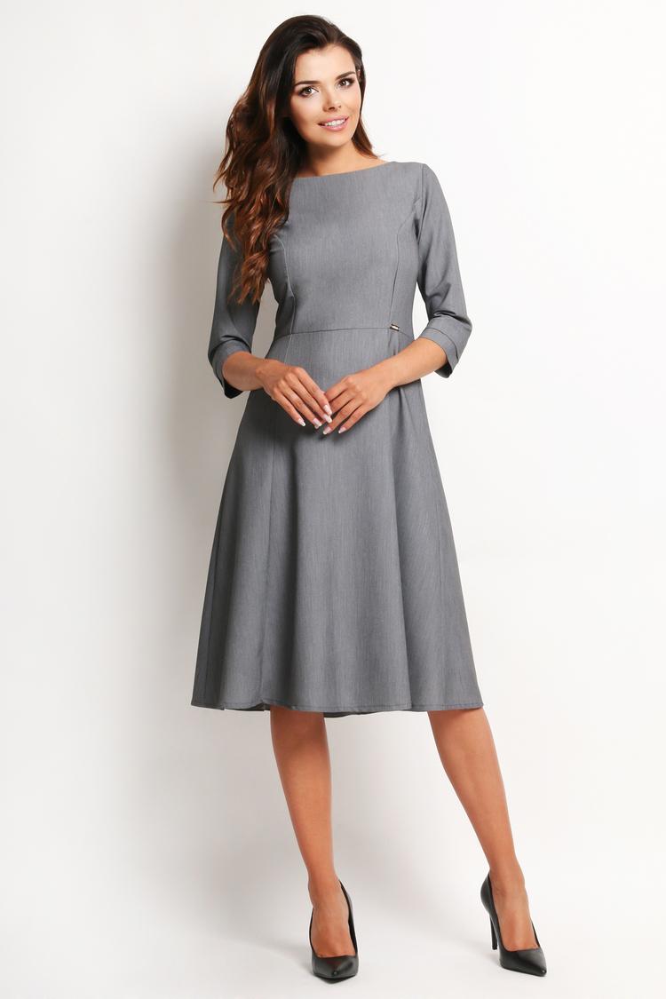 Sukienka Model A112 Grey - awama