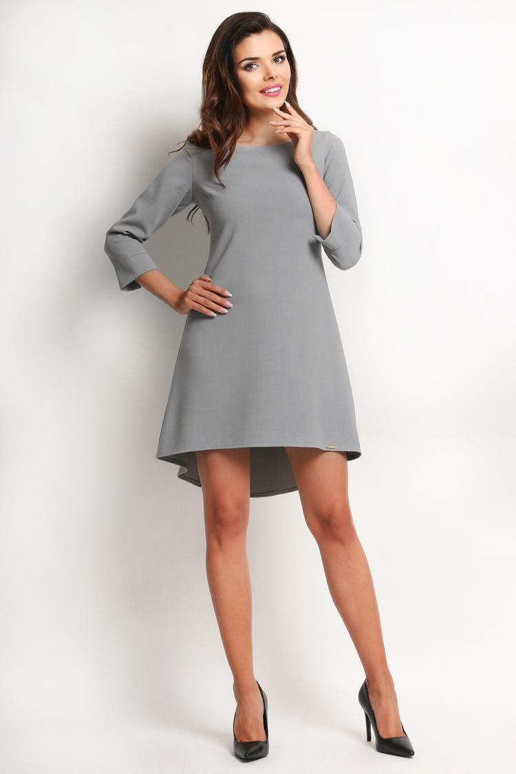 Sukienka Model A115 Grey - awama