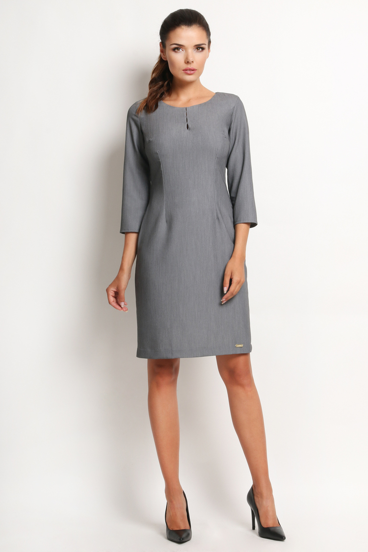 Sukienka Model A124 Grey - awama