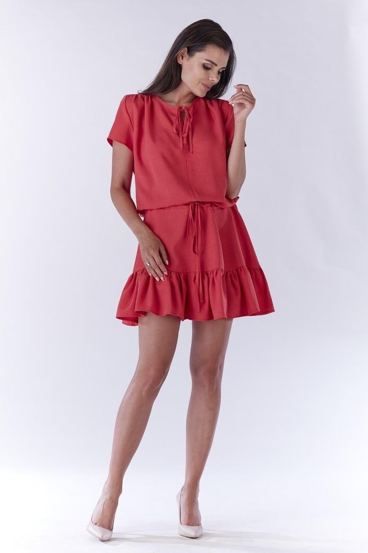 Sukienka Model A180 Pink - awama