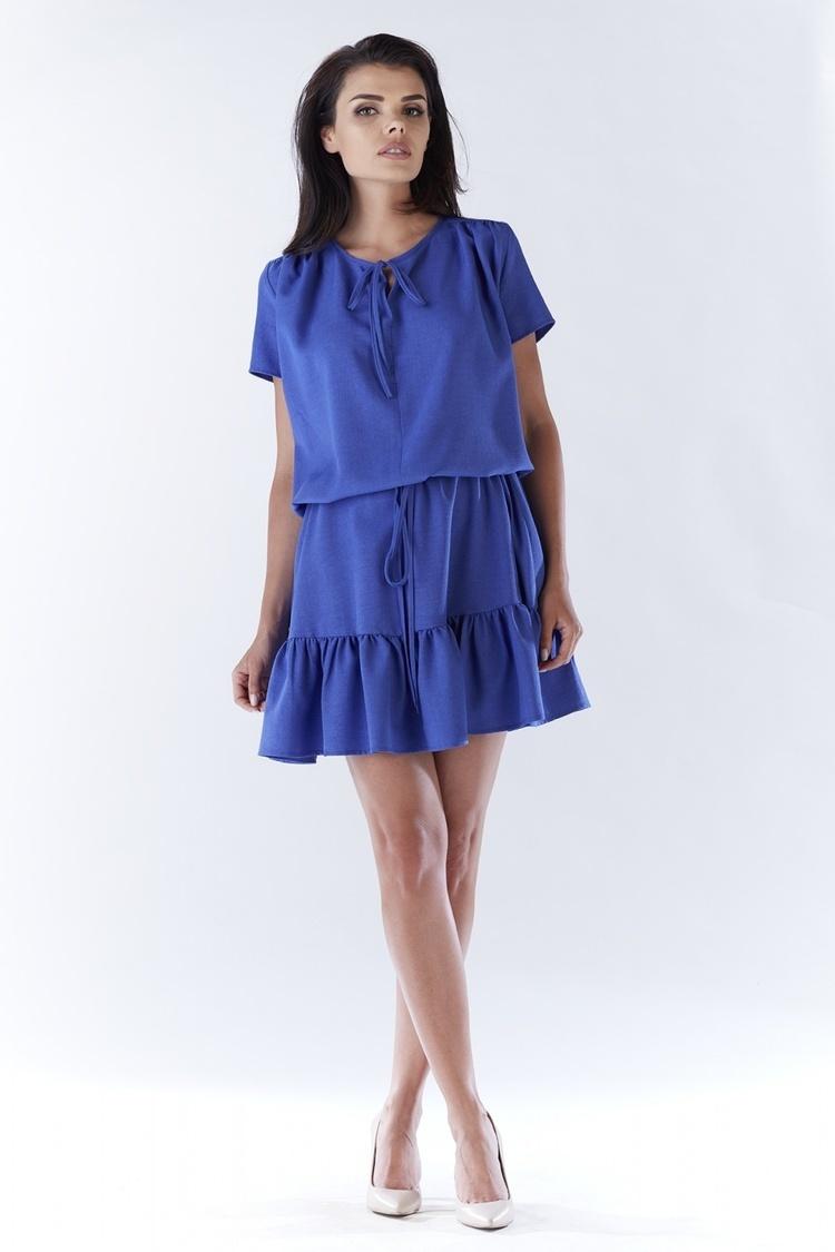 Sukienka Model A180 Blue - awama