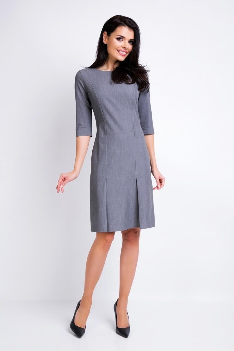 Sukienka Model A158 Grey - awama