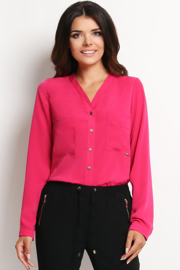 Koszula Damska Model A126 Pink - awama