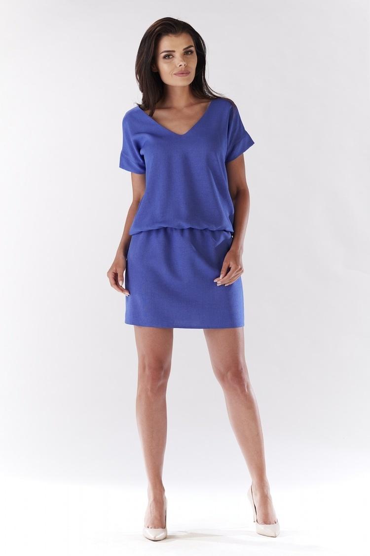 Sukienka Model A178 Blue - awama