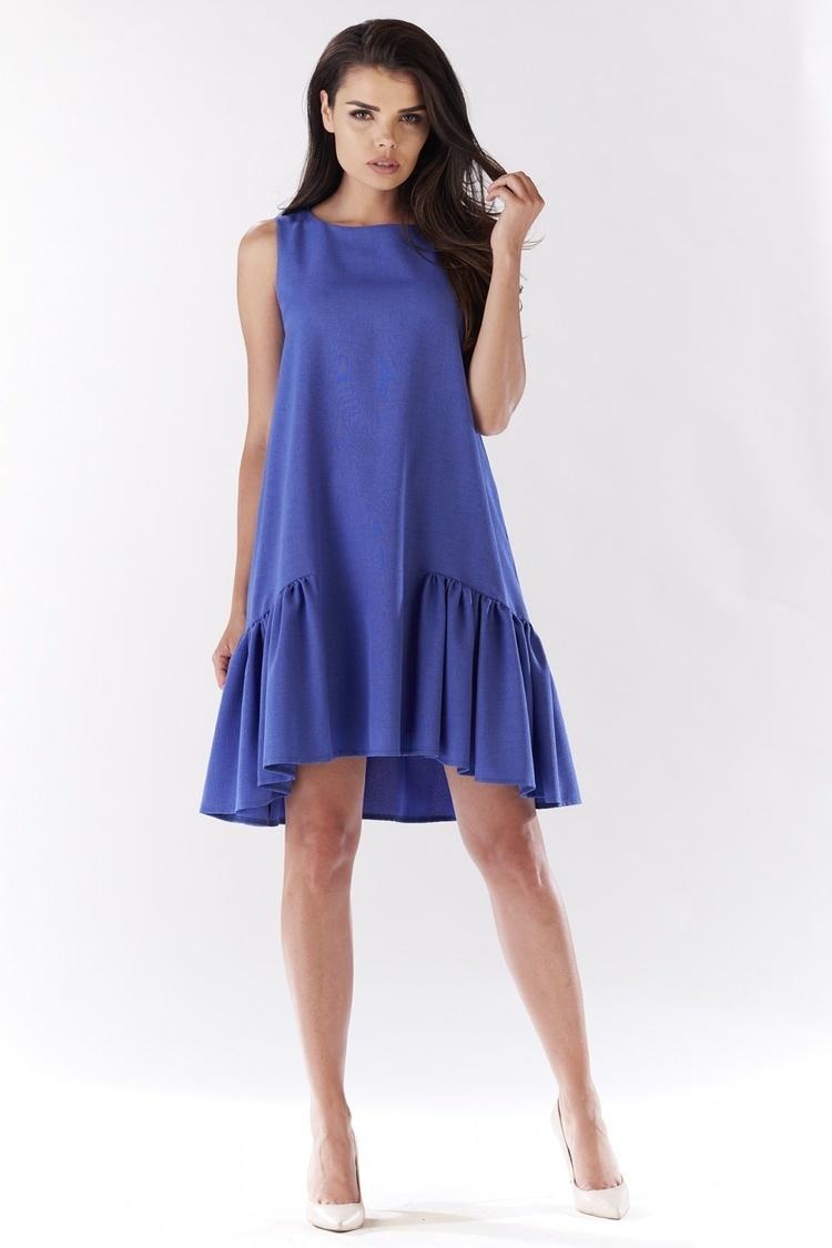Sukienka Model A176 Blue - awama