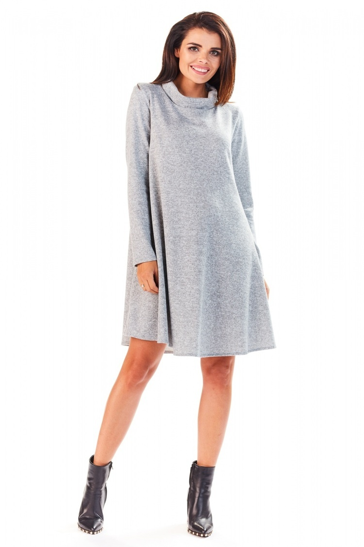 Sukienka Model A198 Grey - awama