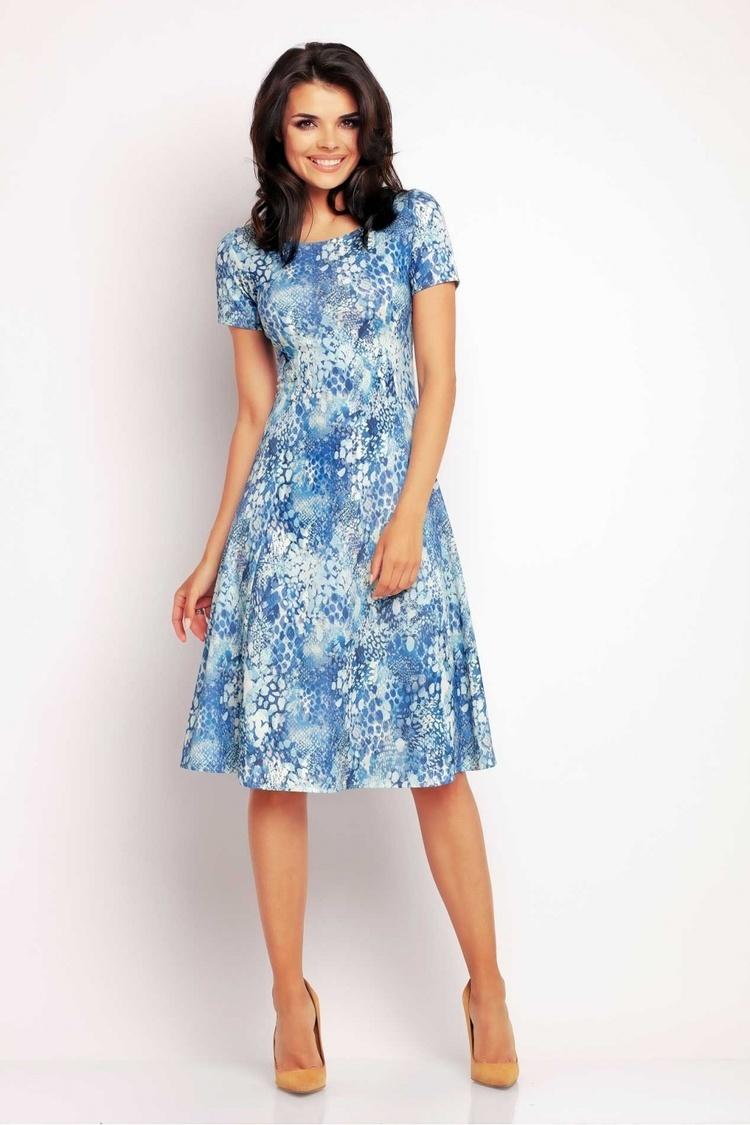Sukienka Model A144 Blue - awama