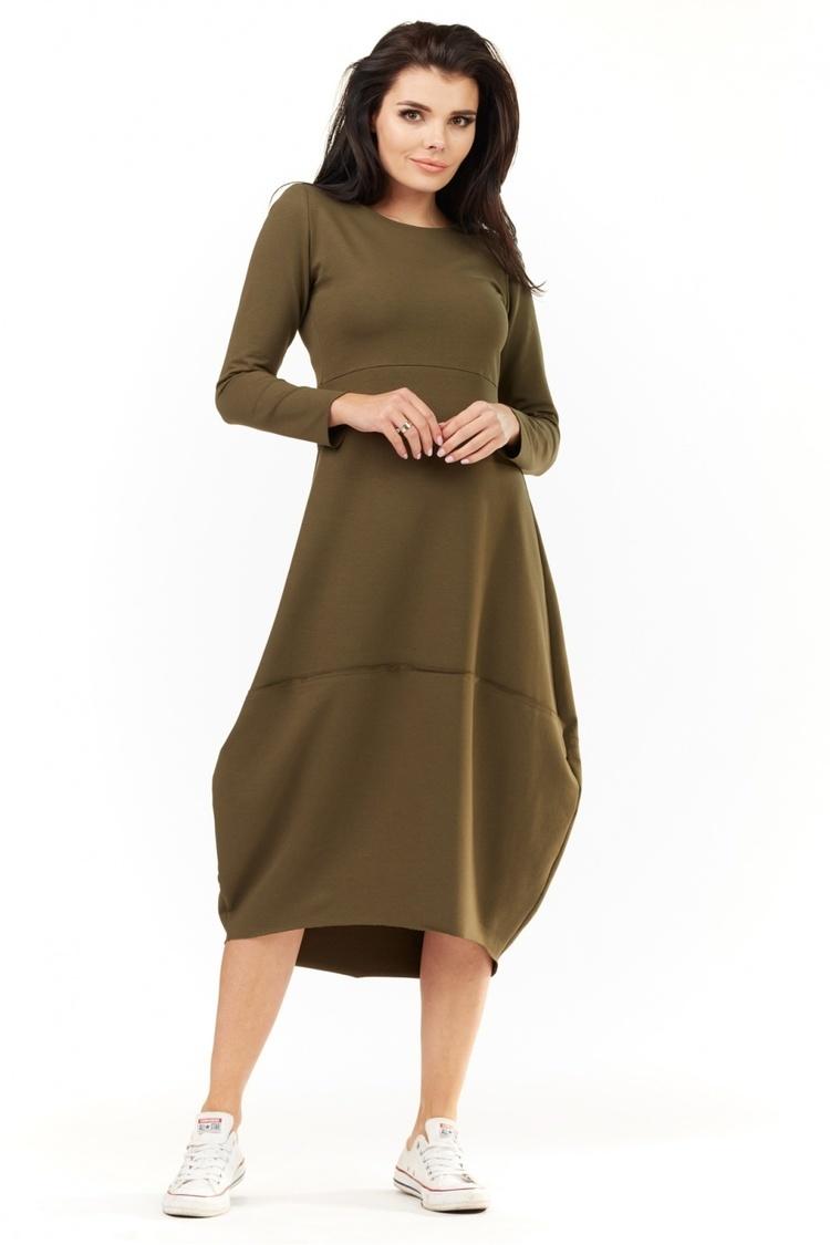 Sukienka Model A209 Khaki - awama