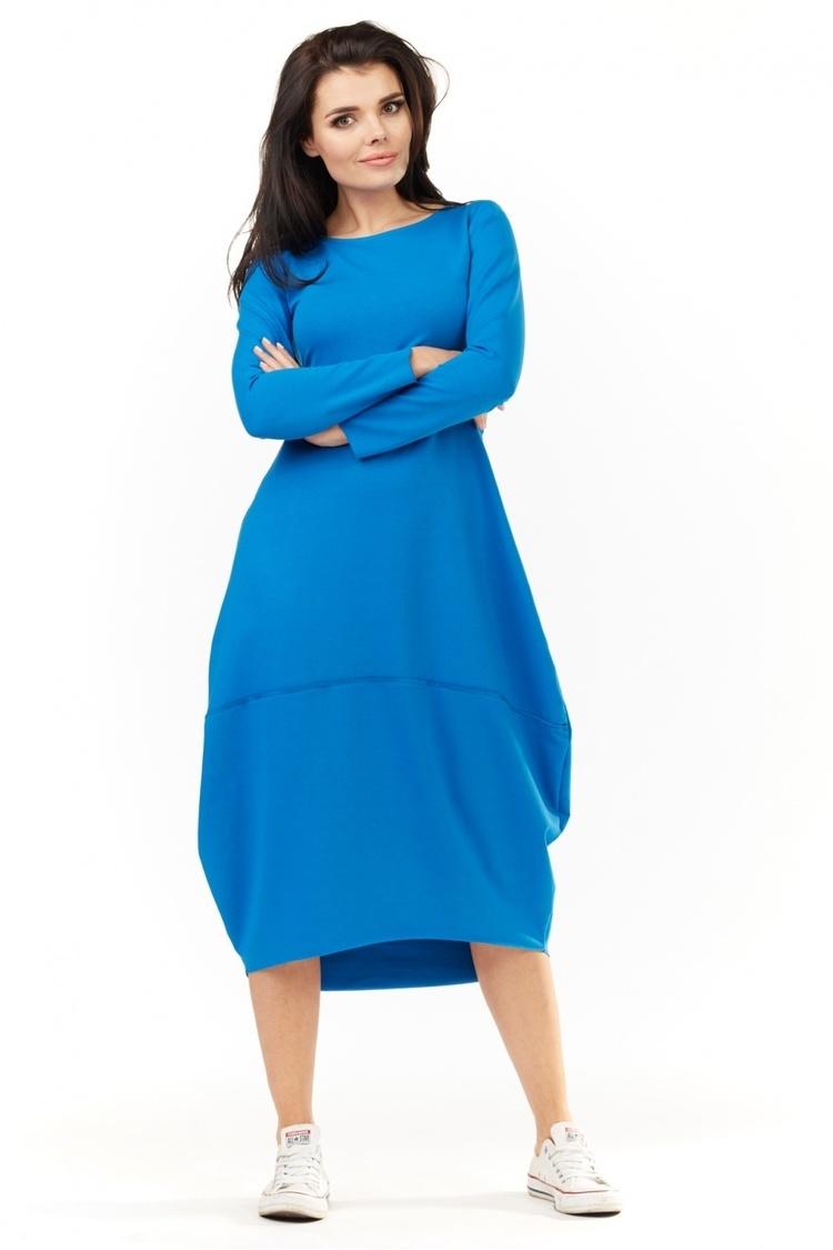 Sukienka Model A209 Blue - awama
