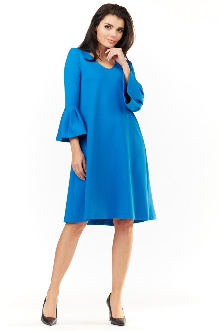 Sukienka Model A207 Blue - awama