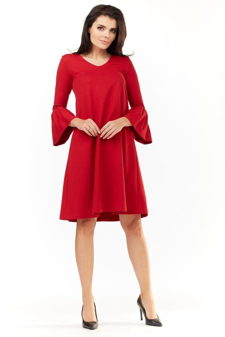 Sukienka Model A207 Red - awama