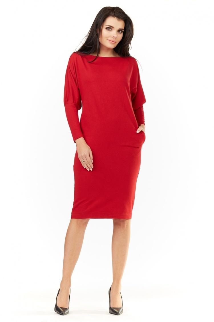Sukienka Model A206 Red - awama