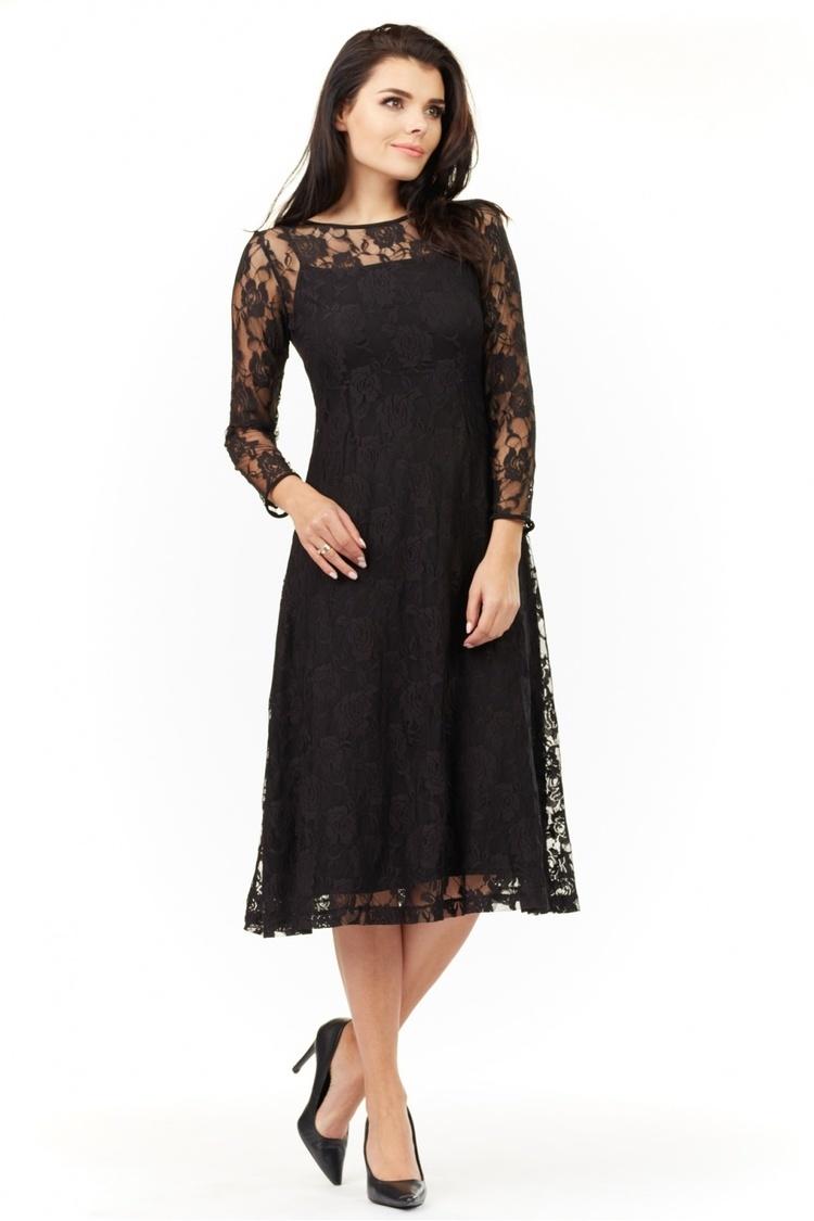 Sukienka Model A205 Black - awama