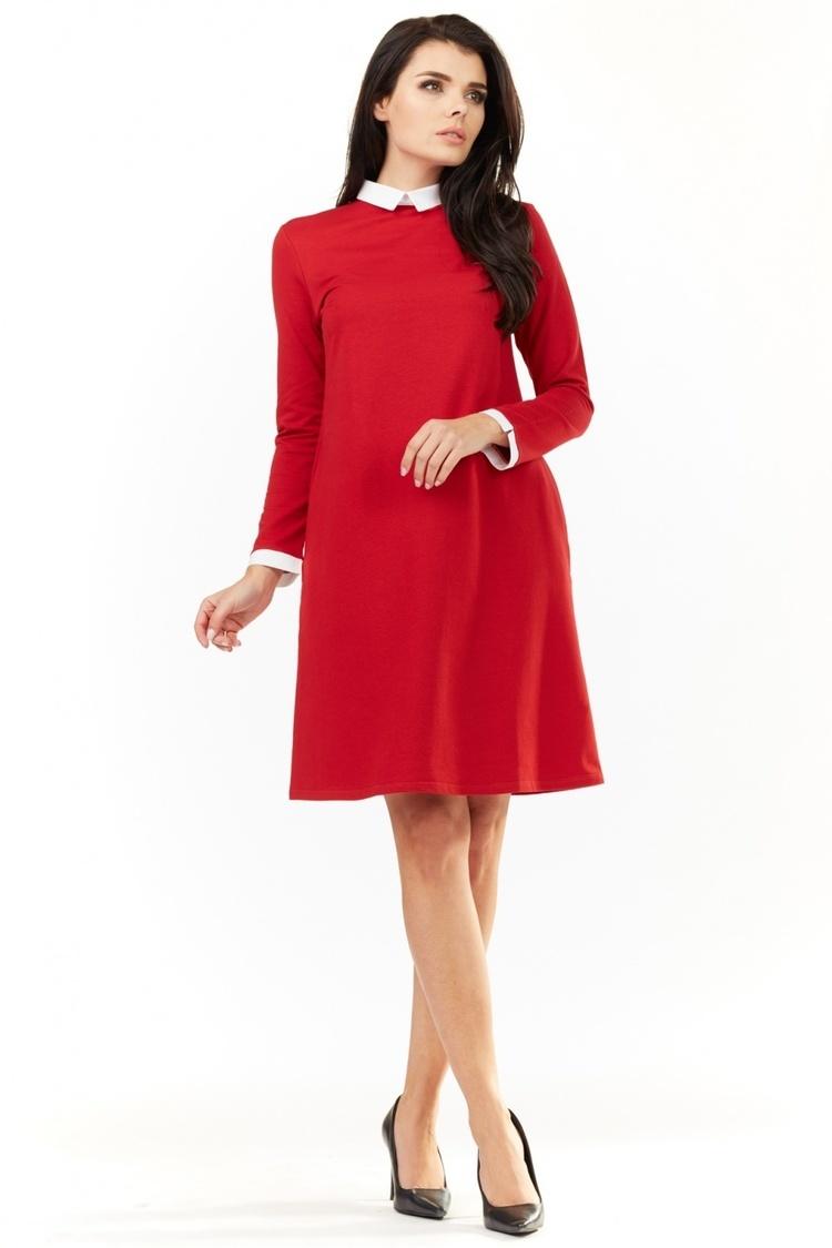 Sukienka Model A204 Red - awama