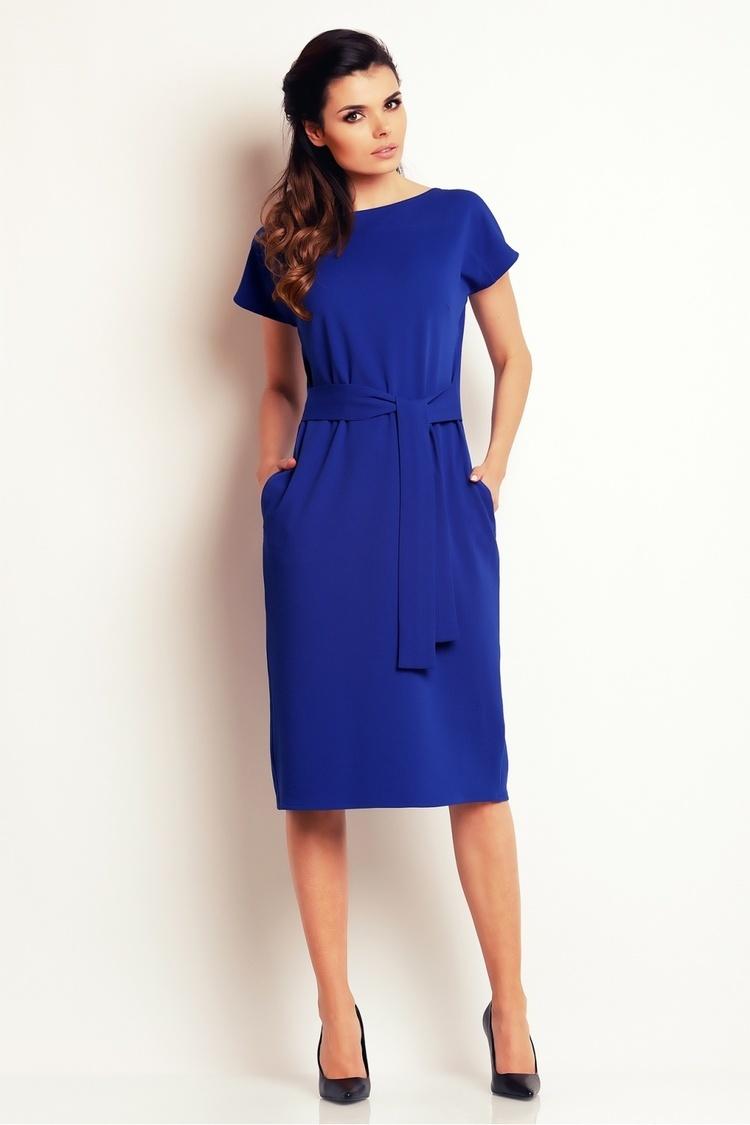 Sukienka Model A142 Blue - awama