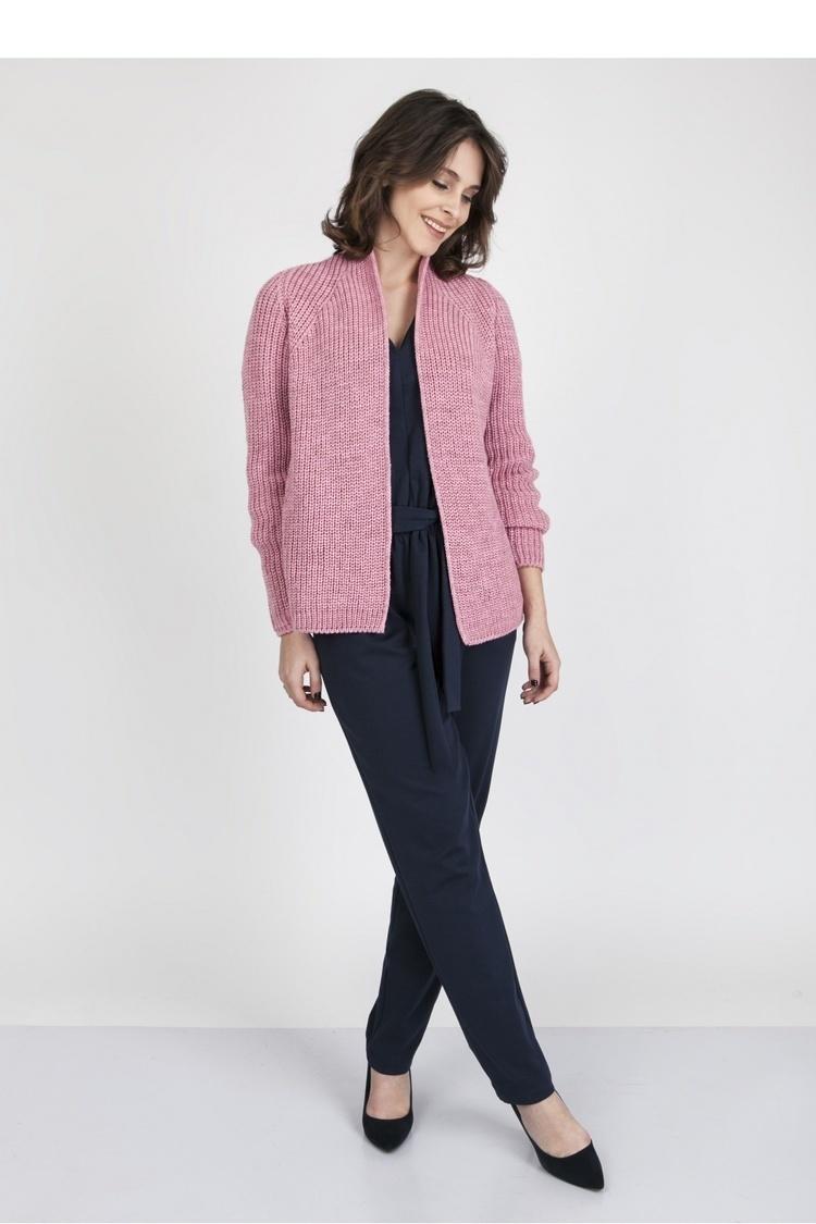 Sweter SWE120 Pink - MKM