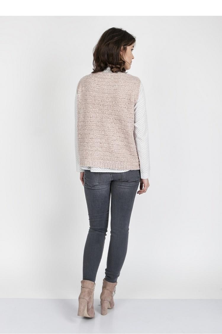 Sweter SWE119 Pink - MKM