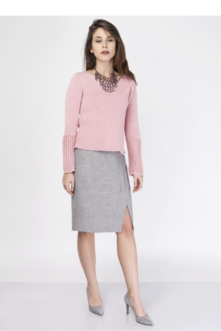 Sweter SWE114 Pink - MKM