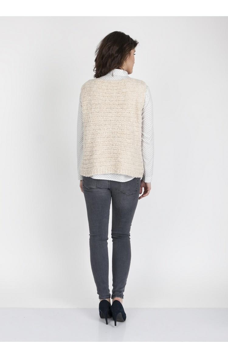 Sweter SWE119 Beige - MKM