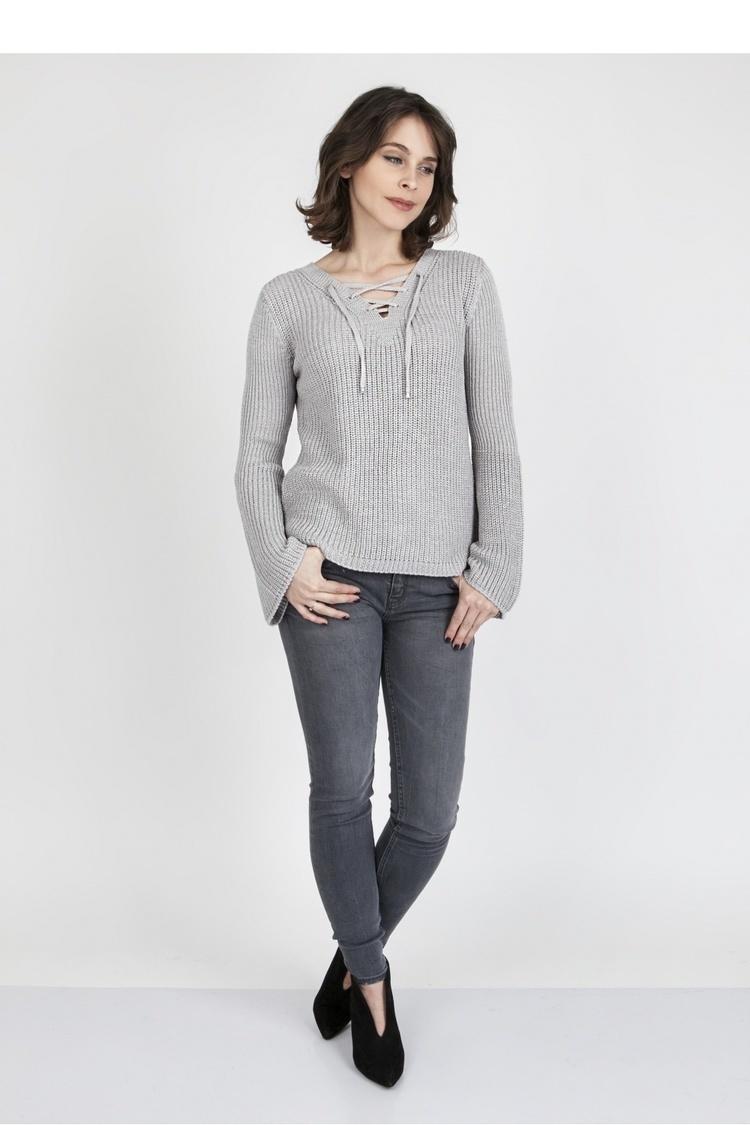 Sweter SWE117 Gray - MKM
