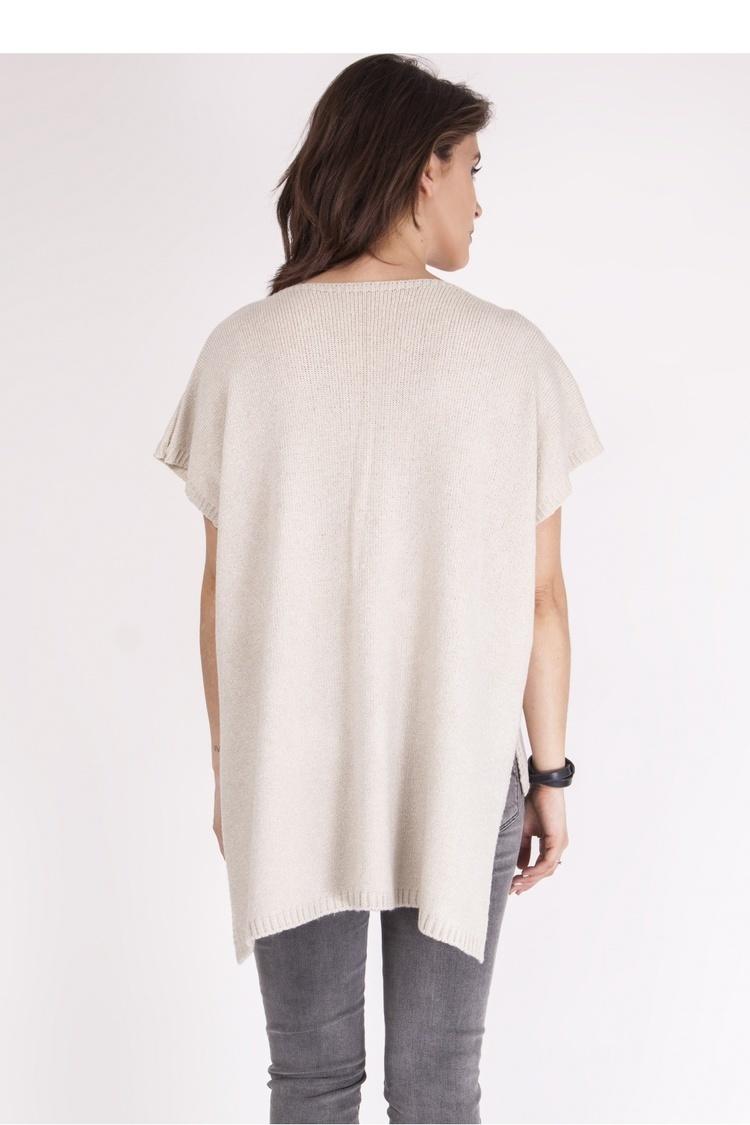 Sweter SWE098 Beige - MKM
