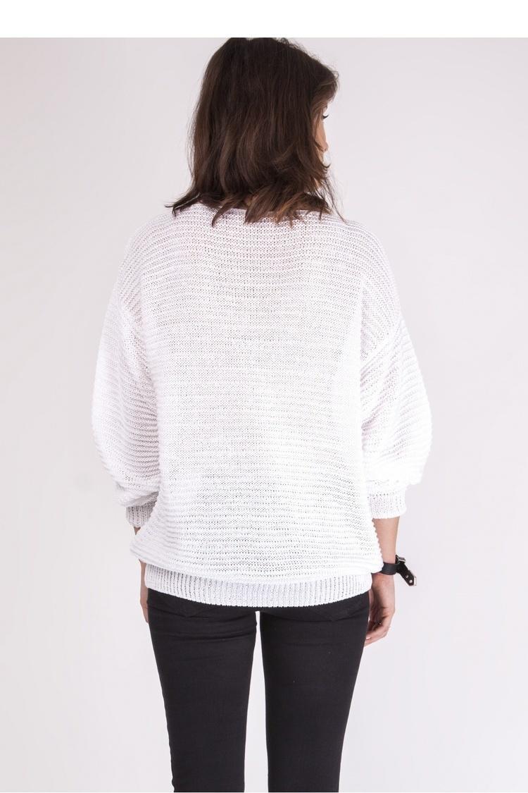 Sweter SWE097 White - MKM