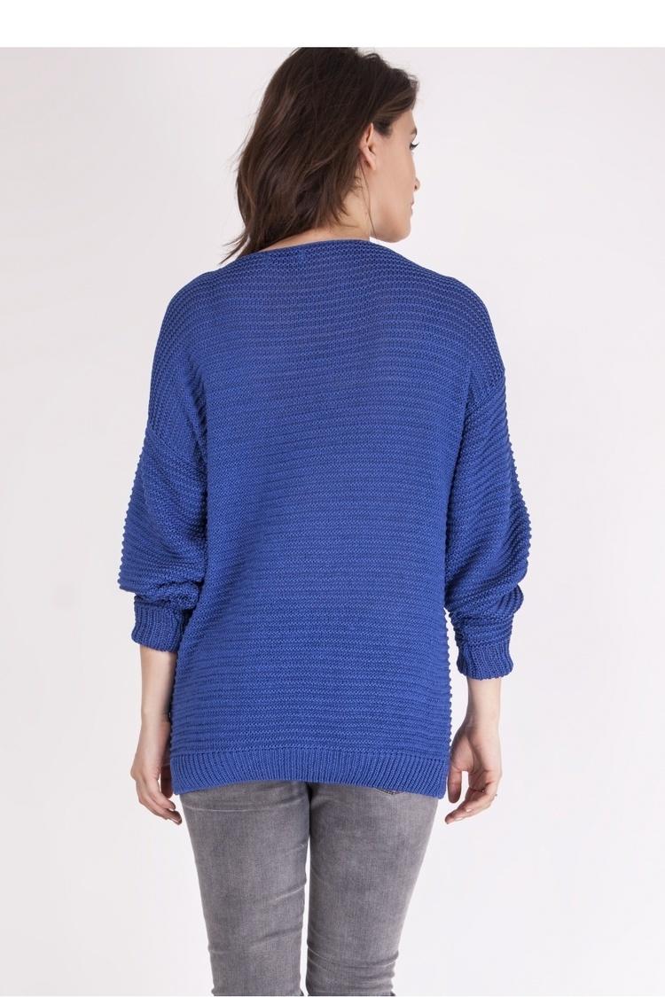 Sweter SWE097 Cornflower - MKM