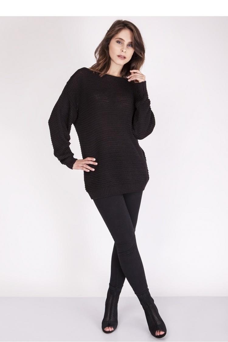 Sweter SWE097 Black - MKM