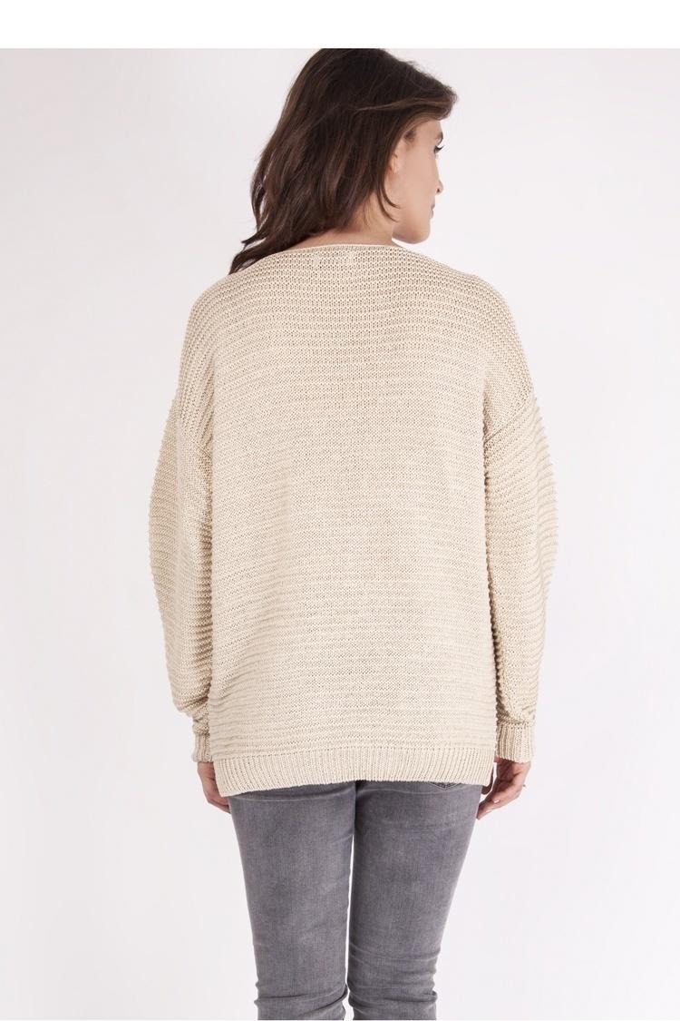 Sweter SWE097 Beige - MKM