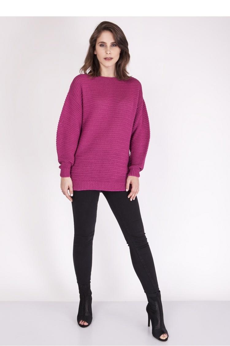 Sweter SWE097 Amaranth - MKM