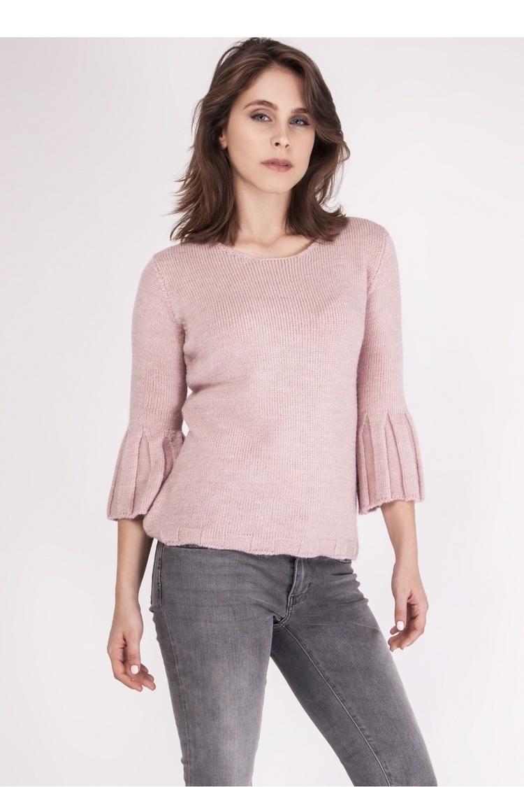 Sweter SWE096 Pastel Pink - MKM