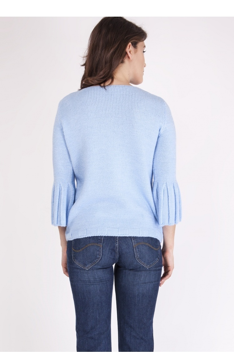 Sweter SWE096 Light Blue - MKM