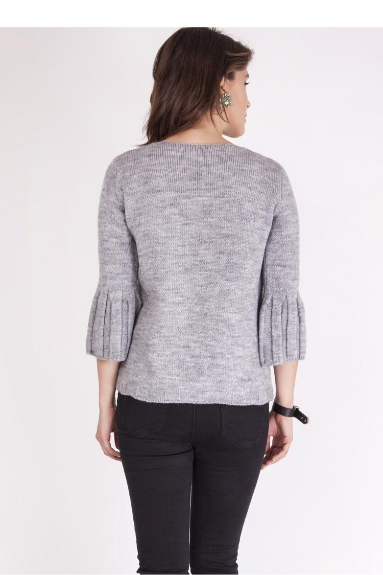 Sweter SWE096 Gray - MKM