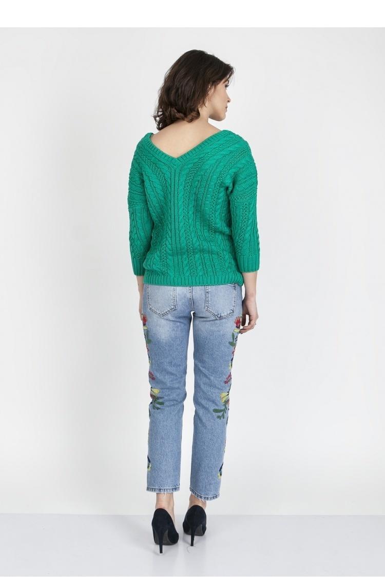 Sweter SWE079 Green - MKM