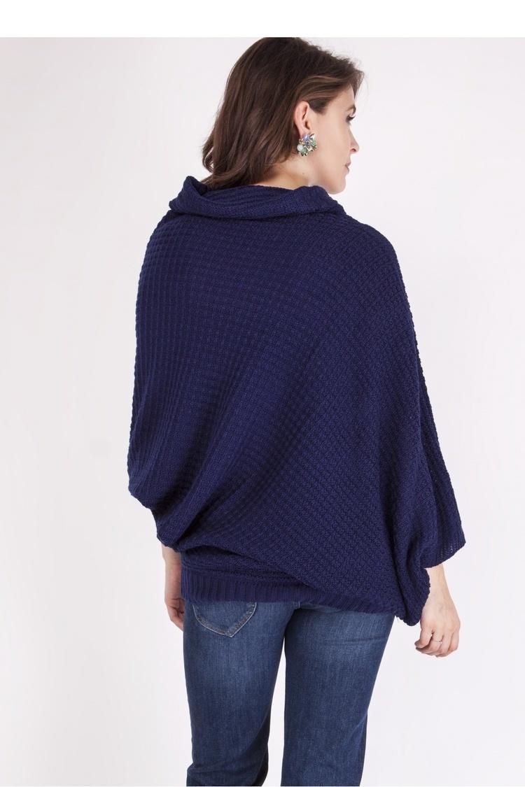 Sweter SWE049 Navy - MKM