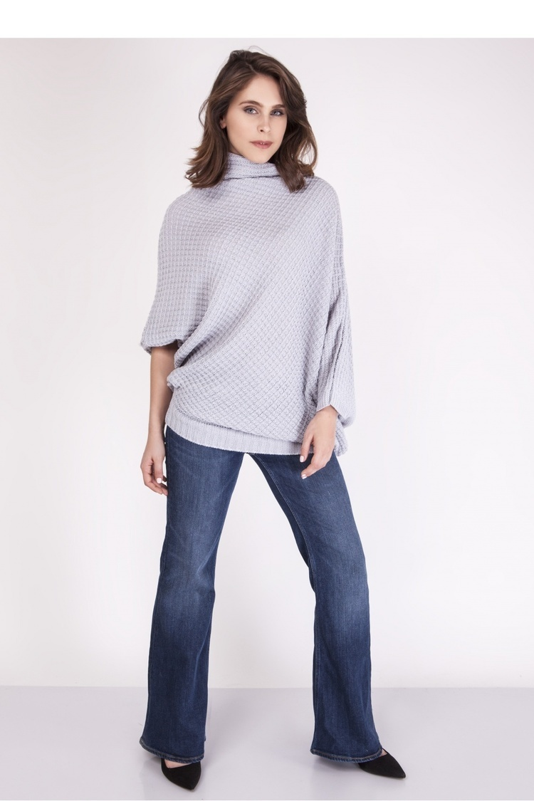 Sweter SWE049 Light Gray - MKM