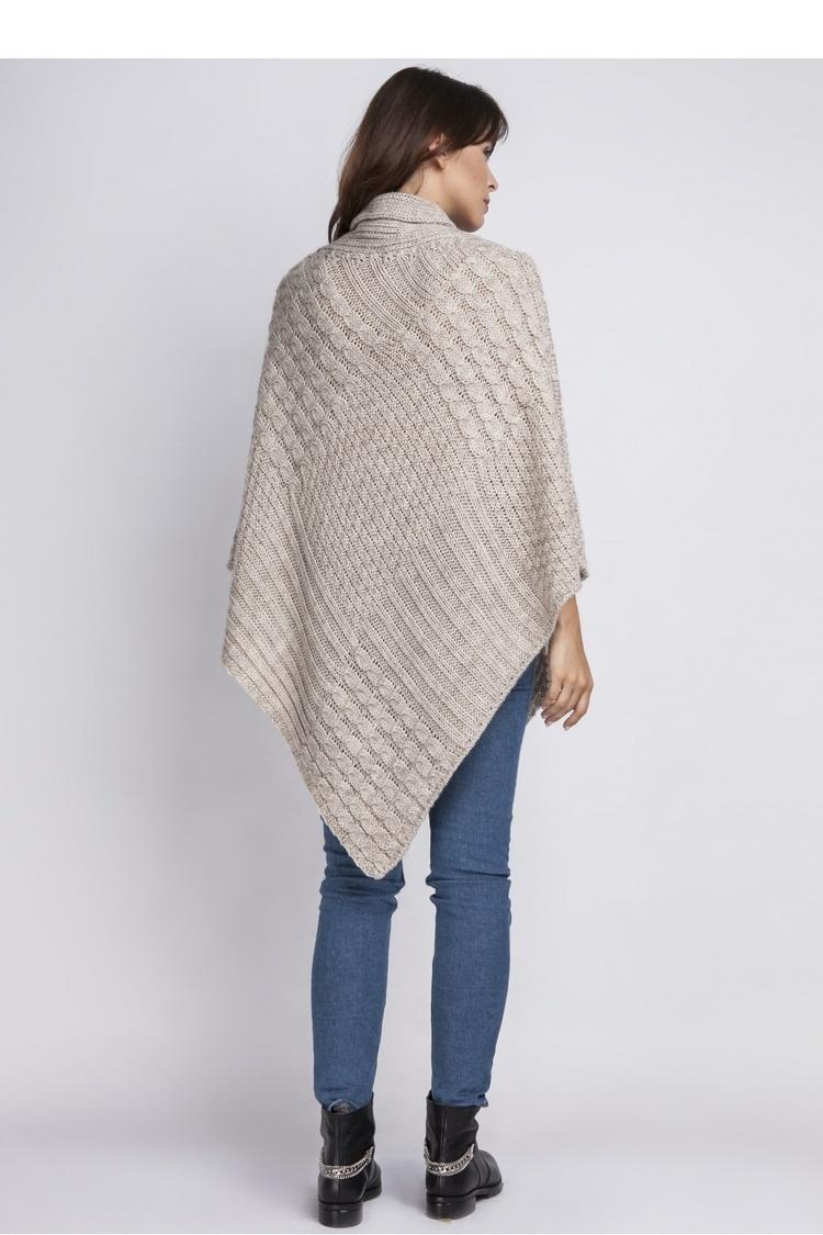 Sweter SWE071 Beige - MKM